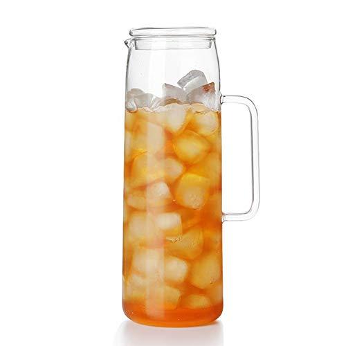 Hittebestendige glazen waterkoker Verdikte Koude kan Grote Capaciteit kan Bedekt met hoog Borosilicaat Water met Transparante stropdas Pot