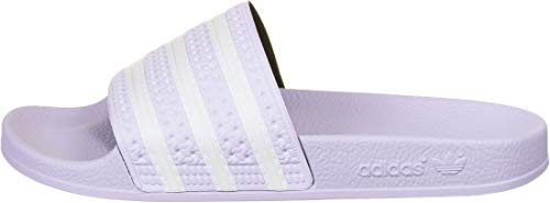 adidas Damen Adilette Slide Sandal, Violett (Purple Tint/Footwear White/Purple Tint), 42 EU