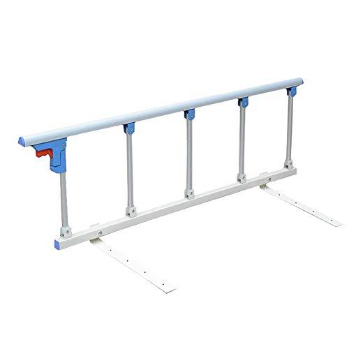 Barrera de Cama- Ancianos/Cama De Niño Barandilla One-Click Plegable - Individual Mano Tren Cama para El Hospital Casa De Salud /, Largo 122 Cm, 40 Cm De Altura