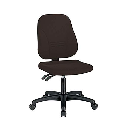 Preisvergleich Produktbild Drehstuhl 1101 Bezug TEC schwarz Gestell: schwarz