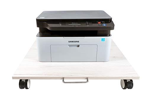 NEUN WELTEN Untertisch-Geräteständer 60 x 60 cm (L x B), Waschmaschinen Untergestell (Model 3)