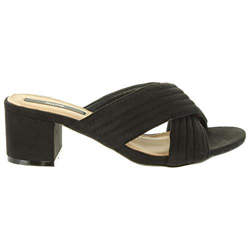 Sandalias de Mujer MTNG 51114 Tammy C35442 Negro Talla 40