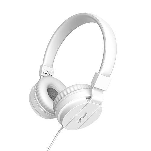 Headset Kabel-Headset Aktive Rauschunterdrückung Universal Subwoofer Stereo Faltbares Headset Kabelgebundenes Frauenuhr