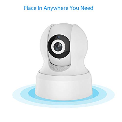 MeterMall Home For Smart Free P2P Server Built-in IR Cut NEO WiFi Indoor PT IP Camera European regulations