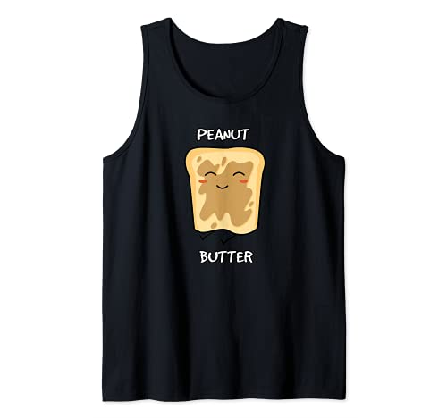Peanut Butter and Jelly Matching Couple Best Friend Gift Tank Top