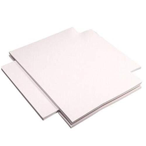 RONGW JKUNYU 100 Sheets Inkjet Printers A4 Dye Sublimation Heat Transfer Paper for T-Shirt