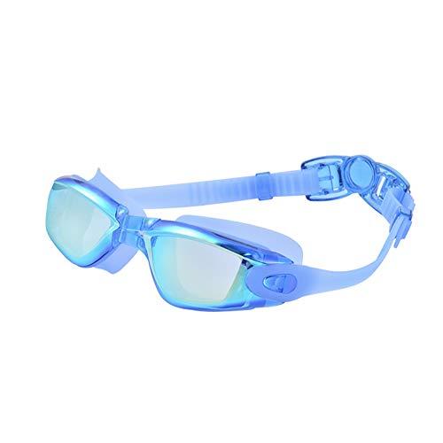 IUANUG Nizza hochwertige Schnorchelbrille Taucherbrille Schwimmbrille Tauchmaske für Erwachsene Senior Size Antibeschlag Silikon,C
