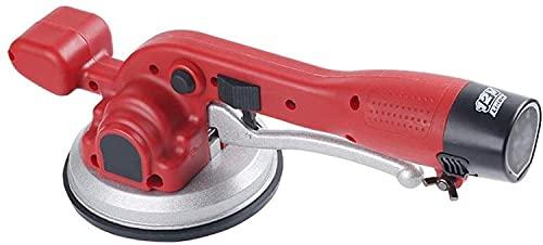 12V kakelplattor kakelmaskin Elektrisk sugkupa Maximal adsorption av 40 kg justerbara plattor planeringsverktyg för upp till 60-100 cm (23-39 tum) kakelhandverktyg