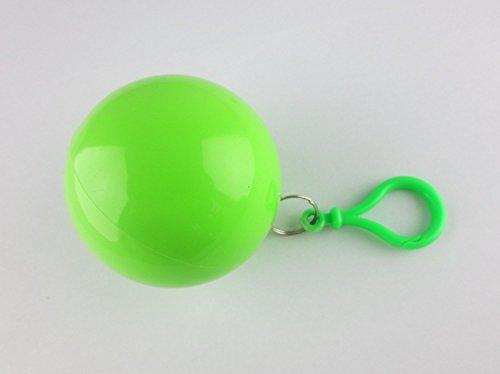 ShirtInStyle Poncho d'Urgence Univers, idéal pour Open Air, petit et vite emballé, Cape imperméable, Regenpocho - Vert