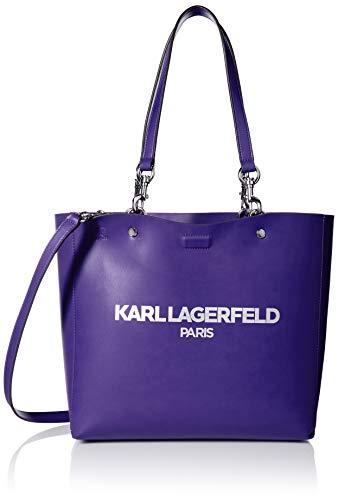 Karl Lagerfeld Paris Damen Adele Tote Tragetasche, Nautische Adresse, Einheitsgröße