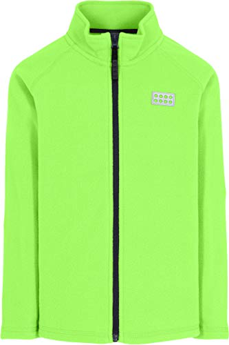 Lego Wear Jungen Full-Zip Jacket Fleece-Jacke, lichtgrün, 116