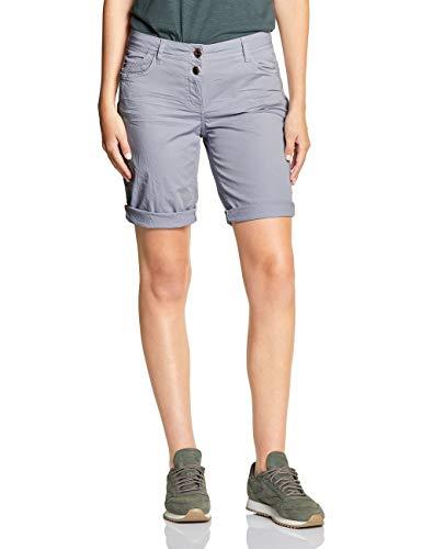 Cecil Damen 372315 Shorts, cool Silver, W28(Herstellergröße:28)