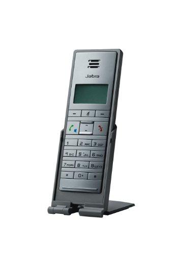 Jabra Dial 550 kabelgebundenes Handset mit USB-Schnittstelle für VoIP-Softphones/UC-Plattformen wie Microsoft Skype for Business, Cisco, Avaya uvm. mit Standfuß, anthrazit