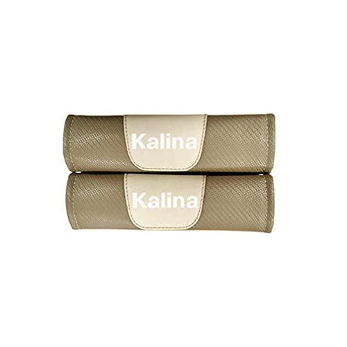 NADAHHPP 2Pcs Coche Seguridad Cinturón Hombro Cinturón Almohadillas, para Lada Kalina Seat Belt Cover Shoulder Pads, Protección Acolchado Cojín Interiores Accesorios(Stylec)