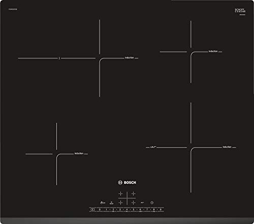 Bosch Inductie kookplaat met 4 Verwarming Velden PUF631FC5E, Glas