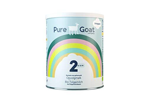 Bio - Folgemilch 2 aus Ziegenmilch von Pure Goat Company, geeignet für Kinder von 6-12 Monaten, 800g