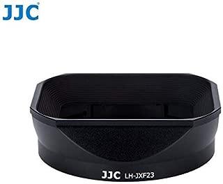 JJC Black Lens Hood with Cap for Fujifilm Fujinon XF 23mm F1.4 R Lens Replaces Fujifilm LH-XF23 [並行輸入品]
