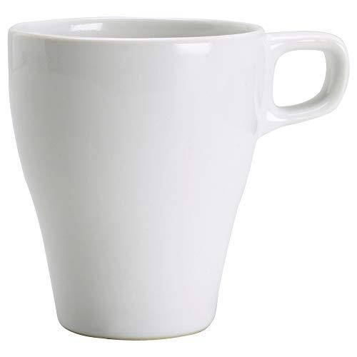 IKEA Färgrik Tasse, Steingut, weiß