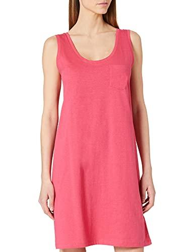 Schiesser Damen Sleepshirt 0/0 Arm, 90cm Nachthemd, Fuchsia, 40
