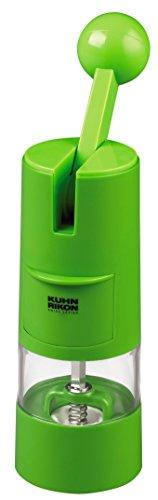 KUHN RIKON Molinillo con Palanca Verde, Centimeters