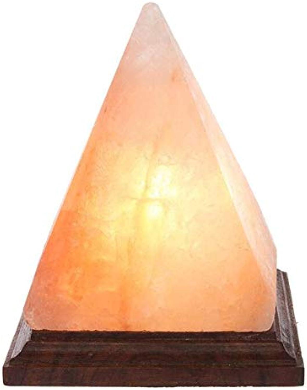 KMY-LIGHTING LED-Schreibtischlampe Himalaya-Salz-Lampe Pyramide-Art-Kristall Salt Rock Luftreiniger Für Büro-Schreibtisch-Nachttischlampe USB Aufladbare Dimmbare Schlafzimmer Bedside