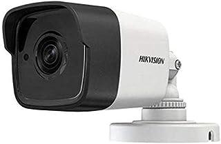 كاميرا مراقبة هيك فيجن خارجية HD تصوير ليلي نهاري دقة 5MP موديل DS-2CE16H0T-ITE والكاميرا تدعم خاصية الكهرباء من جهاز التسجيل