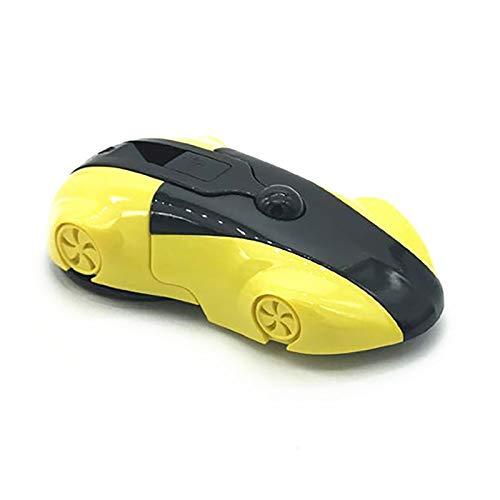 Auleset Soporte para teléfono de coche manos libres, soporte de ventosa para teléfono móvil, tablero de instrumentos ajustable y pegajoso, color amarillo