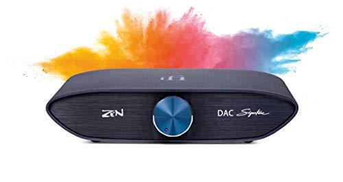 iFi Zen DAC Signature - Convertidor analógico Digital de Escritorio de Alta fidelidad con Entrada / Salida USB3.0 B 4,4 mm balanceado / RCA
