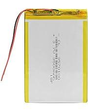Styleart 3.7v,3500mah 3570100 polímero Batería de Iones de Litio Batería Recargable de Iones de Litio Células para Tablet Pc DVD Mid Juguetes eléctricos 2Pcs