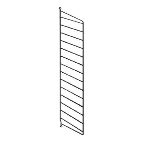String System Wandleiter 75x30cm, schwarz Wandmontage 75x30cm