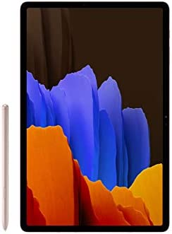 Samsung Electronics Galaxy Tab S7+ Wi-Fi, Mystic Bronze -512GB