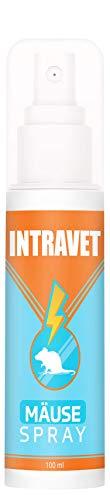 Saint Nutrition Intravet Anti MÄUSE Spray – Natürliches Anti Mittel gegen Mäuse und Ratten – Effektive ohne Chemie für Außenbereich, Garten und Innenbereich, Haus – Schutz und Abwehr in einem Spray