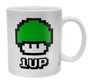Super Mario - 1UP-Pilz Tasse