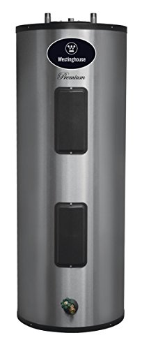 Product Image of the Westinghouse WER052C2X055N06 Electric Water Heater with Durable 316L Stainless Steel Tank, 52 gallon, 5500W, 6-Year Warranty