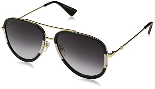 Gucci GG0062S 006 Gold 0062S Pilot Sunglasses Lens Category 3 Size 57mm