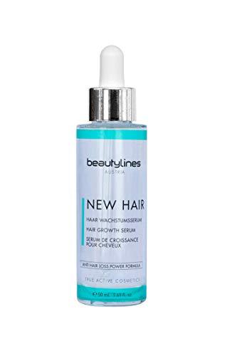 Beautylines - Siero per capelli nuovi - Siero per la crescita dei capelli - 50 ml