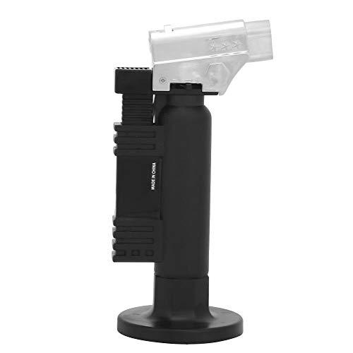 Vikye - Quemador de gas butano con llama de ignición para laboratorio dental, mini soldador de butano, práctico para soldadura de metal electrónico, soplete