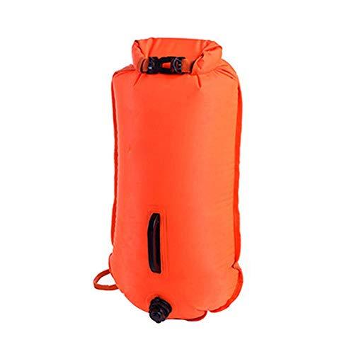 advancethy Drybag Rucksack Verdickte Aufblasbare Tasche Erwachsene Doppel Airbag Boje Tasche Float Lagerung Treiben Schwimmen Tasche