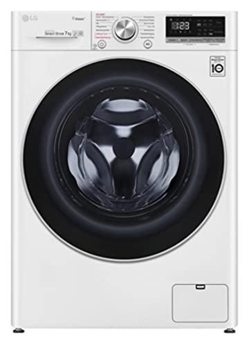 LG F2V4SLIM7 Waschmaschine, weiß/schwarz, nur 47 cm tief