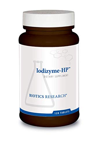 Biotics Research Iodizyme HP Iodine, Thyroid Support, Cellular...