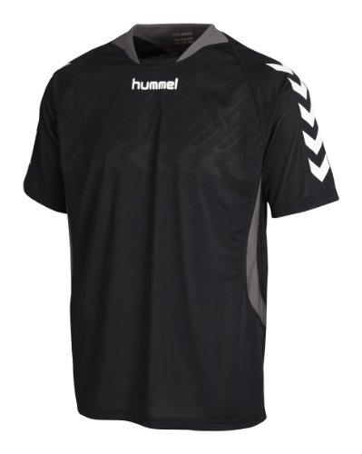 Hummel Erwachsene Trikot Team Player Match, Black, 6-8 (122-128), 03-552-2001