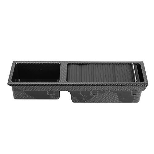 Yctze środkowa taca konsoli wkładka do przechowywania ziarna z włókna węglowego szuflada 51167038323 kompatybilna taca schowek do zmiany biegów wkładka akcesoria