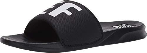 Reef Men's ONE Slide Sandal, Black White Xdf, 11.5 UK