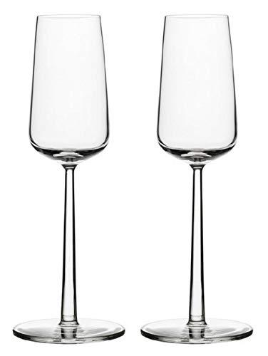 Iittala 1008576 Essence 2-er Set Champagnergläser 21 cl, Glas