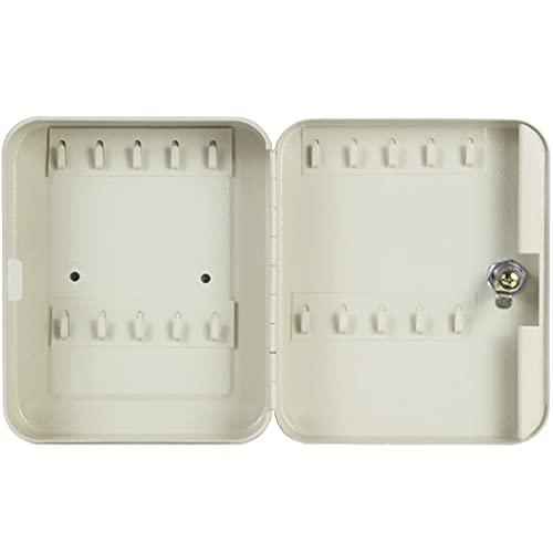Caja De Llaves Pared Caja De Llaves De Pared para Oficina, Caja De Clasificación Clave para Hospitales, Caja De Llaves De Coche para Almacén (Color : Beige, Size : 20 bits)