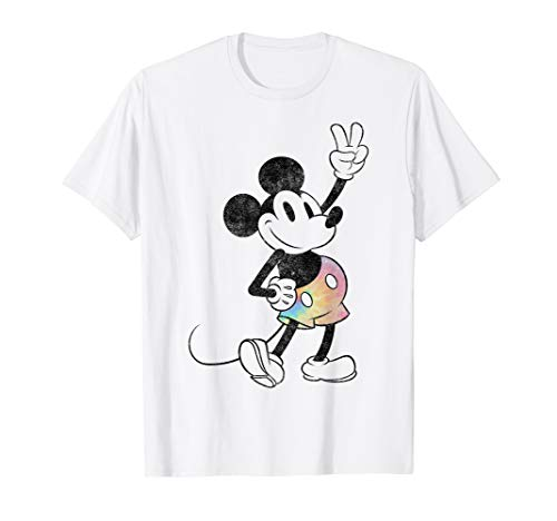 Disney Mickey And Friends Mickey Tie Dye Shorts T-Shirt