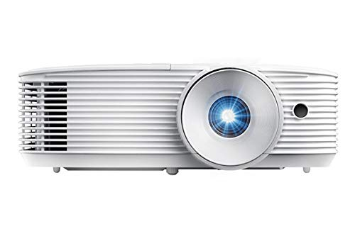 Optoma W335 WXGA DLP Professional Projector | Bright 3800 Lumens | Business Presentations, Classrooms, or Home | 15,000 Hour lamp Life | Speaker Built in | Portable Size