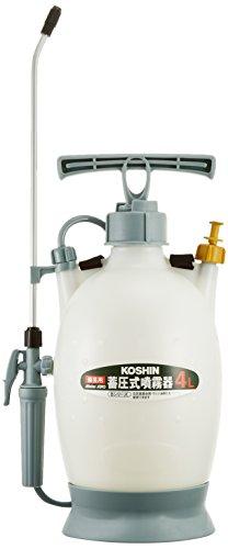 工進(KOSHIN) 蓄圧式 噴霧器 タンク 4L ミスターオート HS-401BT 1段 ノズル 継足しパイプ 噴口 1個 防除 ...