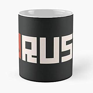 Synamatic Logo Survival Rust Survive Games Game Fun Meme La Mejor Taza de café de cerámica Blanca de 11 oz