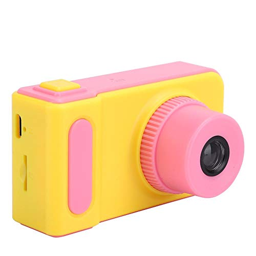DSLR Video Mini Camera Toy, USB Sports Camera, Digital Camera, Camera, for Children of All Ages, for Kid for Childen,(Pink (no Memory Card))